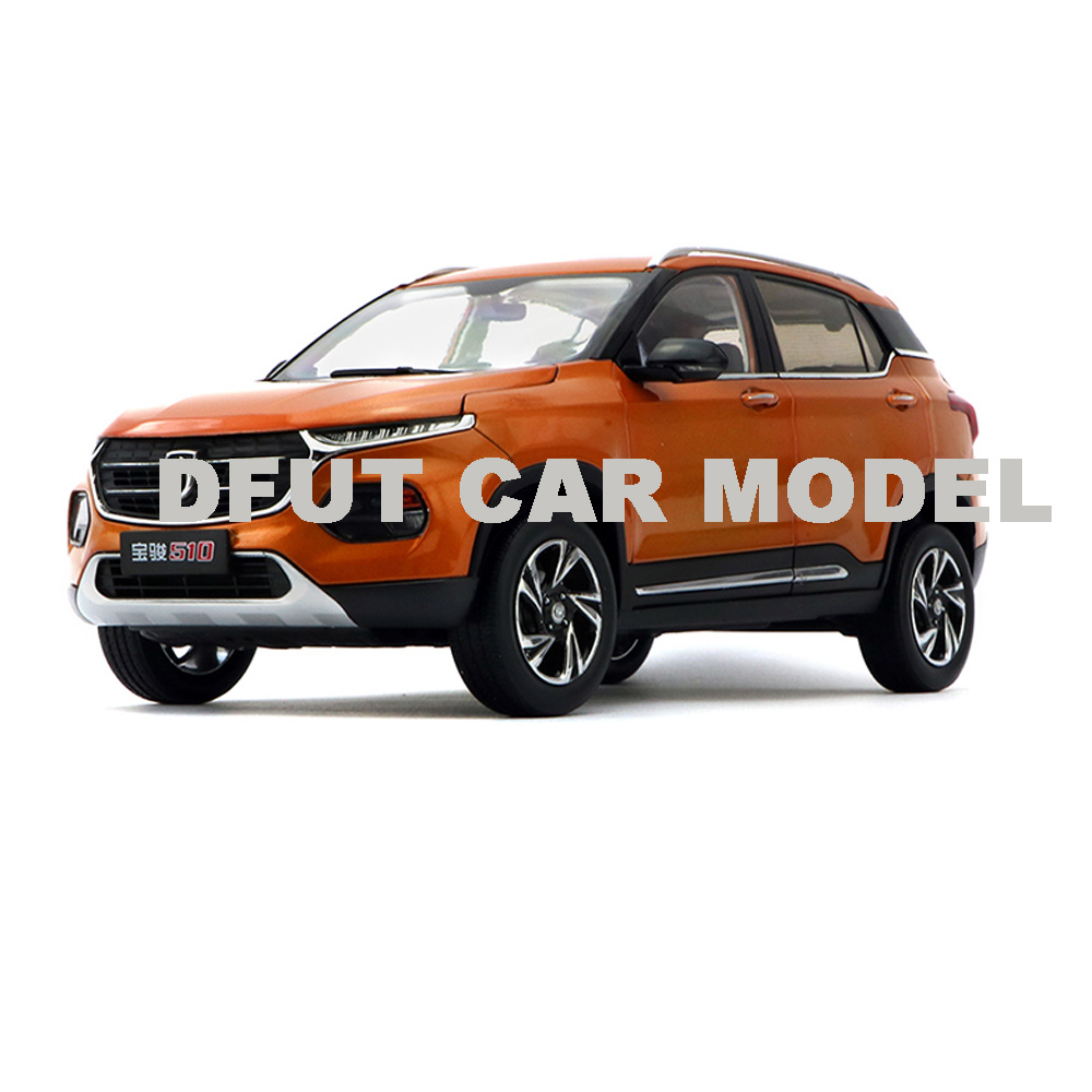 Scale 1:18 BAOJUN 510 Model Diecast Metal Alloy Car Model Toy Gift For Collection With Free Shipping