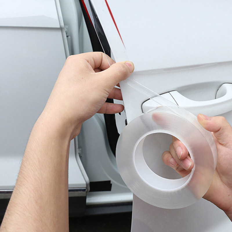 Car Door Edge Guards Anti-collision Door Strip Bumper Protector for <font><b>Mercedes</b></font> Benz W169 W176 W245 W246 W204 W205 A <font><b>B</b></font> C class <font><b>180</b></font> image