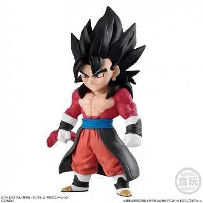 Bandai dragão bola heróis adverge 02 broly vegetto ssj4 vegeta ssj4 coora ui goku bater figura azul conjunto