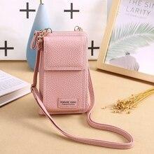 Mini Cross-body Mobile Phone Shoulder Bag Pouch Case Belt Women Men Handbag Purse Wallet Pouch Shoulder Mobile Phone Bag