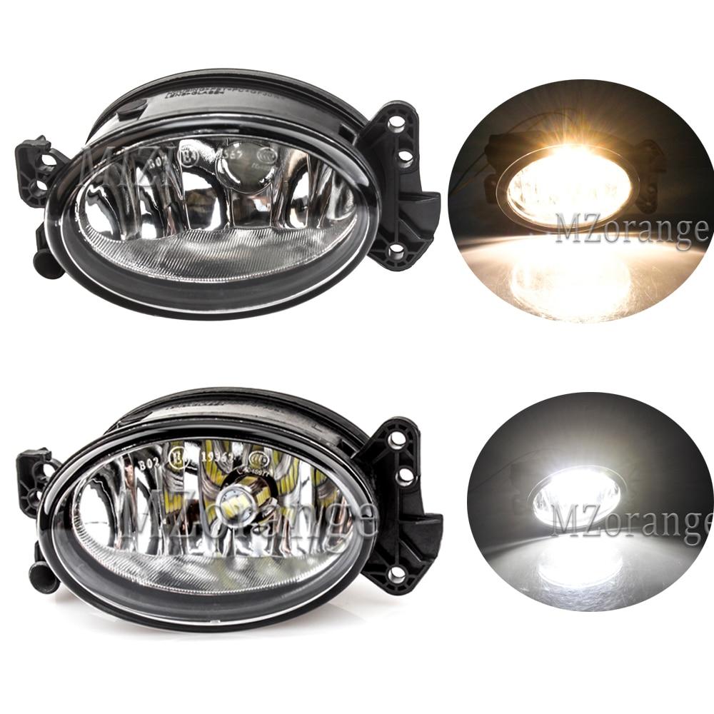 MZORANGE светодиодный галогенный светильник, противотуманный светильник в сборе для Mercedes Benz W204 C230 C300 C350 W211 E320 E350 W164 передний противотуманный св...