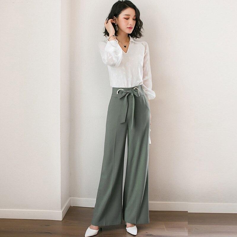 Women Ladies Italian Side Stripe Trouser Fashion Slim Fit High Waist Trousers
