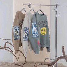 Kanye West Kids Zien Spoken Hoodies Mannen Vrouwen 1:1 Casual Hoge Kwaliteit Ghost Patch Cpfm Streetwear Hip Hop Kanye West sweatshirts(China)