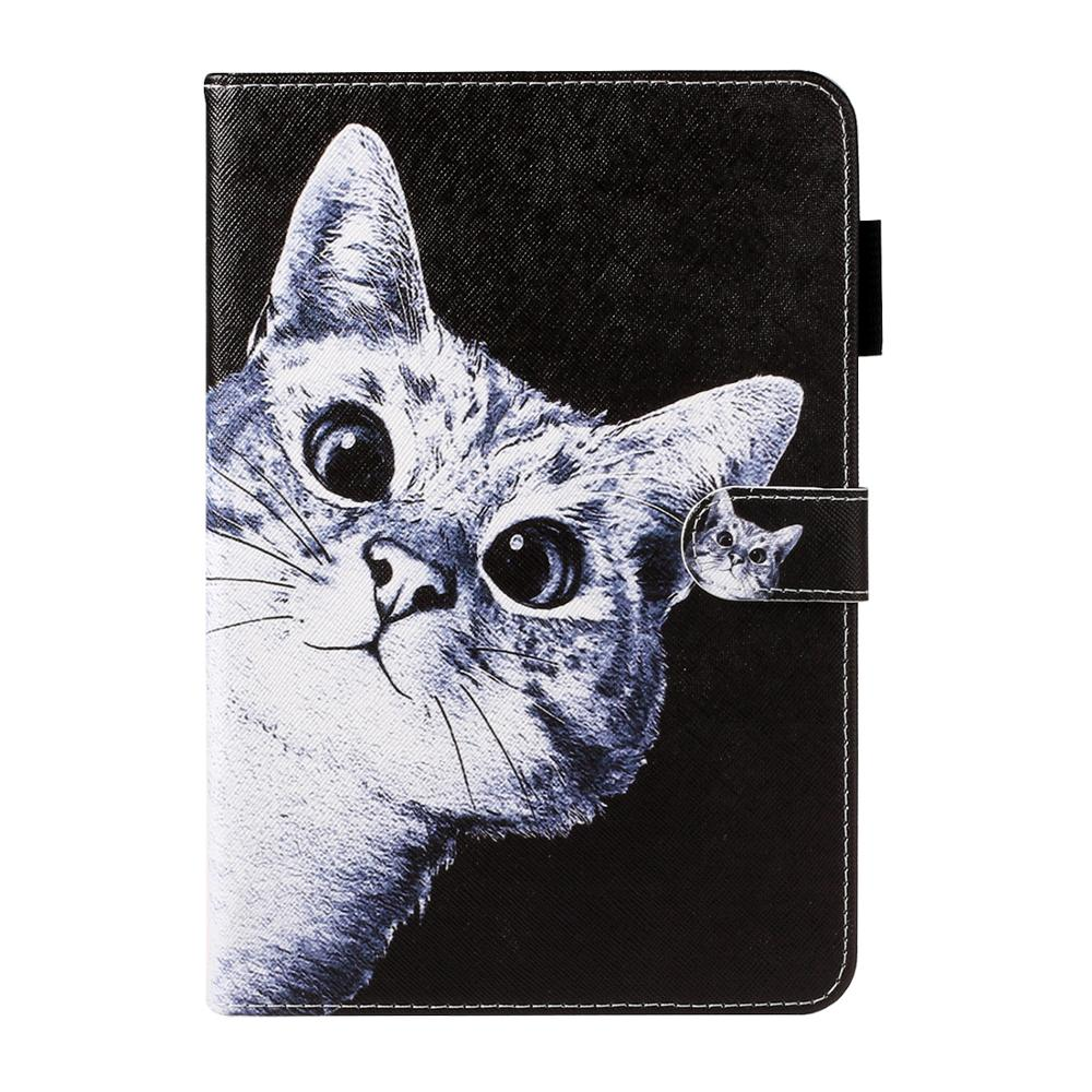 Cat Rose Sand Case For Samsung Galaxy Tab A 10.1 T510 T515 Tablet Flip Cover PU Silicone Stand Case For Samsung Tab A 10.1 2019