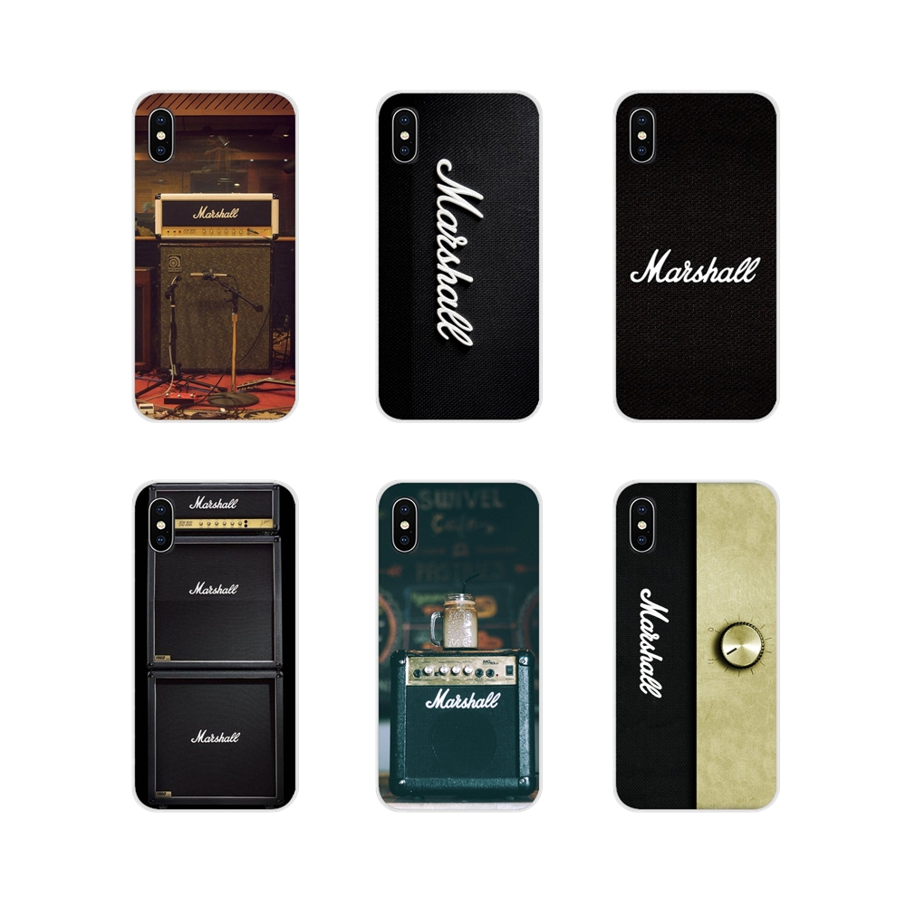 For Apple iPhone X XR XS 11Pro MAX 4S 5S 5C SE 6S 7 8 Plus ipod touch 5 6 Accessories Phone Shell Covers guitar amp marshall