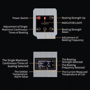 Image 5 - Новый 1500N инструмент для стимуляции позвоночника и спины, 16 уровней, импульсный массажный инструмент, Health Care, регулируемый инструмент для хиропрактики, пистолет для коррекции