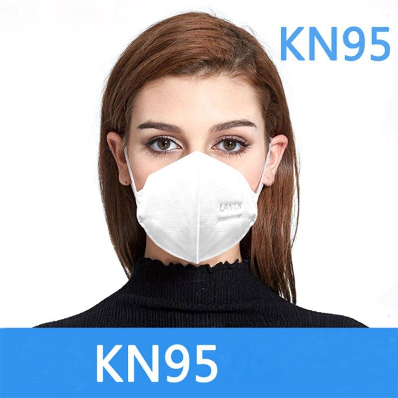 KN95 Face Mask Antivirus Formaldehyde Flu Bacteria Mouth Mask Anti Dust Disposable Earloop Surgical Masks