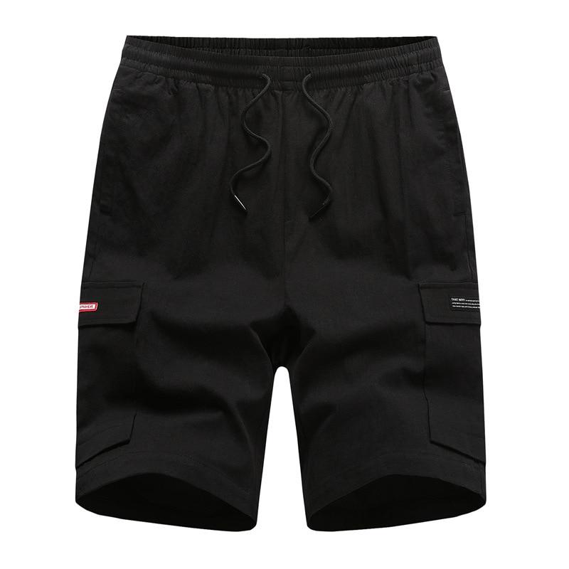 Shorts Men Summer Korean-style Trend Workwear Casual Shorts Loose-Fit Capri Pants Popular Brand Shorts Sports Pants