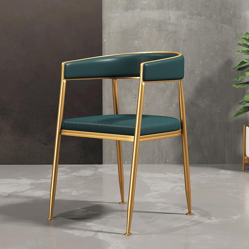 Northern Europe Light Luxury Dining Chair Home Chair Modern Simple Leisure Ins Net Red Hotel Restaurant Designer Chair
