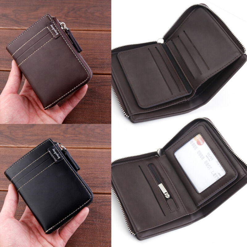 The New 2019 Men's Wallet Is Made Of Genuine Leather,Genuine Short Money Clip,Youth Business Simple Ultra-thin Wallet