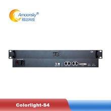 Colorlight s4 caixa de remetente vídeo suporte máximo 2.3 milhões de pixels para publicidade a cores cheias display led tela