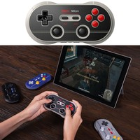 N30 Pro 2 Bluetooth Gamepad Wireless Controller Classic Retro Design Full Key Gamepad for Switch Steam Android MacOS Windows