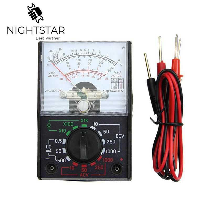 MINI Multimeter Electric AC/DC OHM Voltmeter Ammeter Multimeter Multi Tester MF-110A