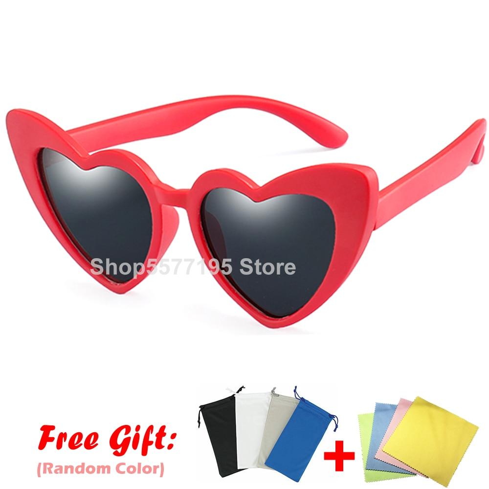Kids Sunglasses Baby Polarized Sun Glasses Flexible Safety Frame UV400 Eye-wear