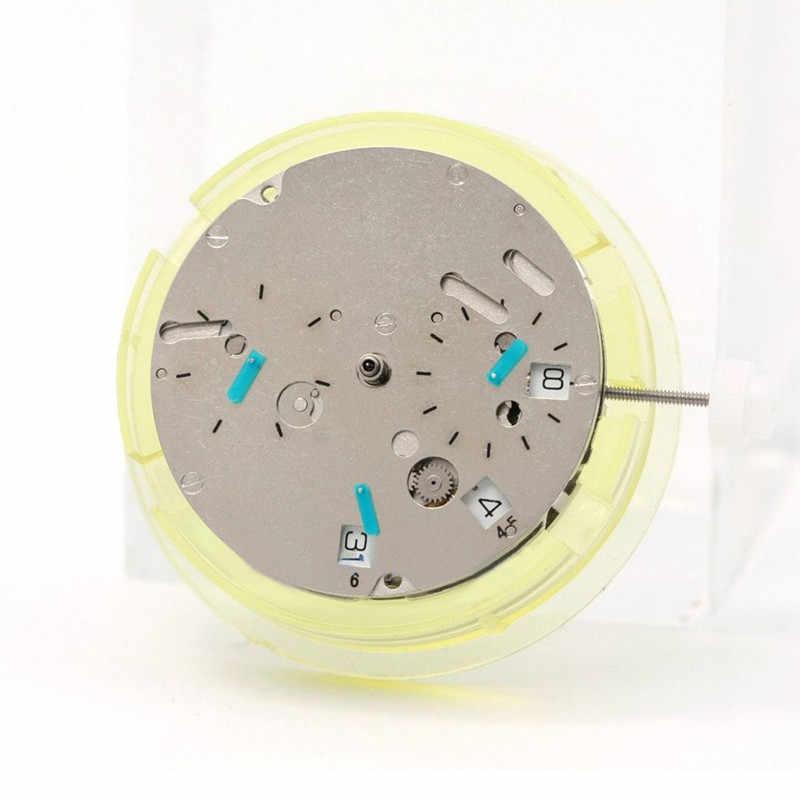 Wytrzymały metal pojedynczy kalendarz data mechaniczny zegarek mechanizm automatyczny zamiennik dla DG 3836 ruch naprawa części do narzędzi