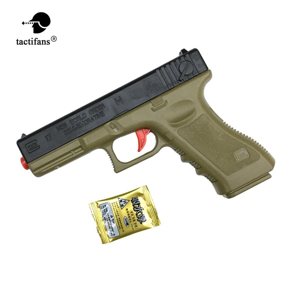 Plastic Safe Toy Pistol Gun Weapon Gunshot Kid Boys Girls Gift Outdoor Game Gel Ball Blaster For Children Christmas