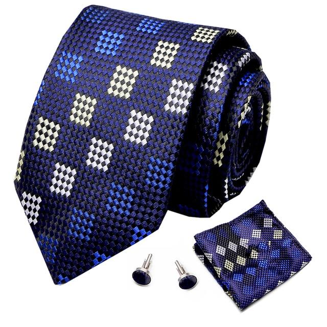 Купить красные шелковые мужские галстуки с геометрическим рисунком картинки