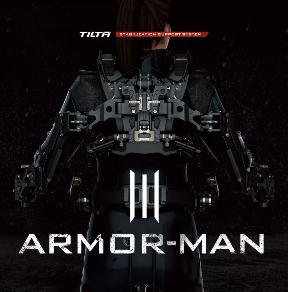 <font><b>TILTA</b></font> max ARM-T03 Armor Man 3.0 <font><b>Gimbal</b></font> Support System For ARRI RED Camera DJI RONIN 2 3-Axis Gimal Stabilizer steadycam/easyrig image