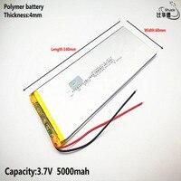 리터 에너지 배터리 3.7 v  5000 mah 4060140 태블릿 pc 용 폴리머 리튬 이온/리튬 이온 배터리 7 인치 8 인치 9 인치  mp3  mp4