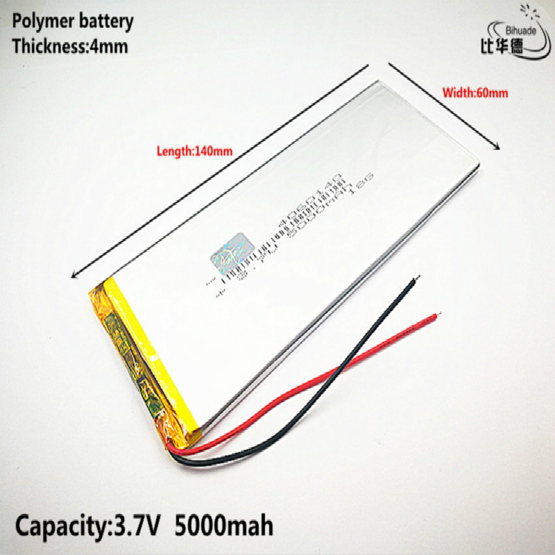 Liter Energy Battery 3.7V,5000mAH 4060140 Polymer Lithium Ion / Li-ion Battery For Tablet Pc 7 Inch 8 Inch 9inch,mp3,mp4