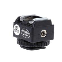 C N2 Hot Shoe Adapter Chuyển Đổi Đồng Bộ PC Cổng Bộ Cho Nikon Flash Cho Máy Ảnh Canon Mới