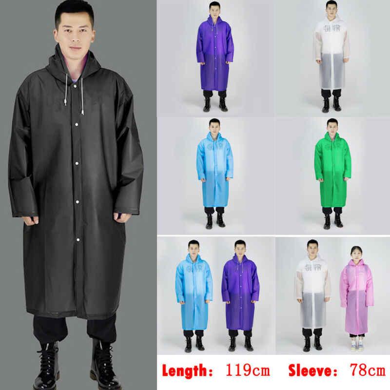 Capa de chuva com capuz poncho capa de chuva jaqueta de chuva à prova deva água