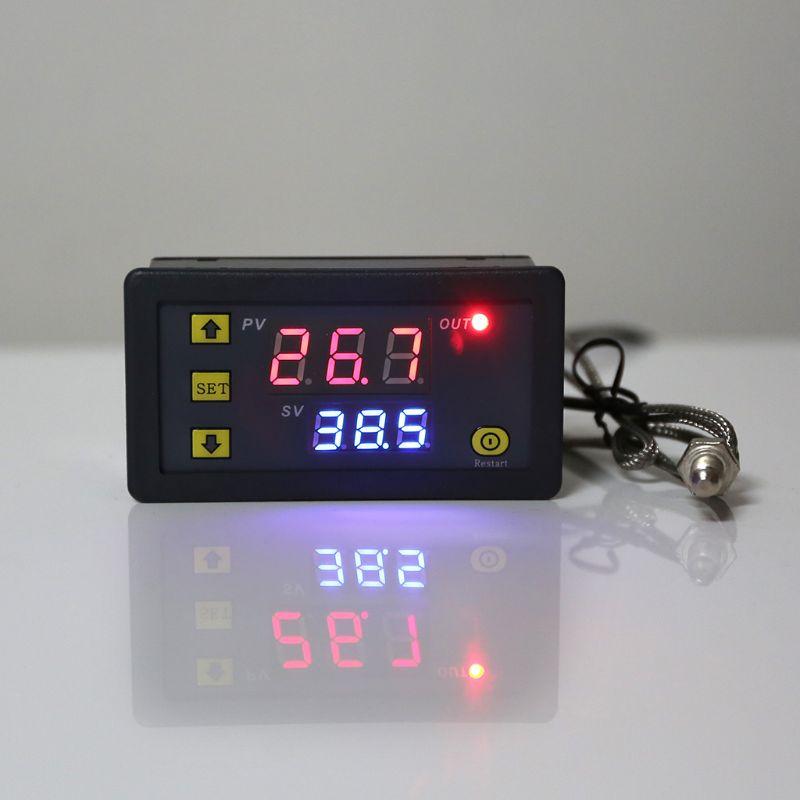 2019 Лидер продаж! Цифровой температурный контроллер 60 ~ 500 градусов Цельсия k тип M6 датчик термопары Встроенный термостат|Запчасти для электроводонагревателей|   | АлиЭкспресс