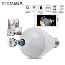 INQMEGA 960P Wifi Camera IP 360 Security Lamp Panoramic Bulb CCTV Video Surveillance Fisheye HD Night Vision Corridor Light Cam