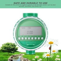 Hot LCD Display Automatic Intelligent Electronic Water Timer Rubber gasket design Solenoid Valve Irrigation Sprinkler Controller Garden Water Timers    -