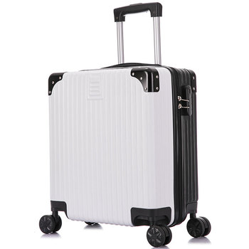 18inch carry on Travel Trolley Luggage Suitcase Rolling Trolley Bag on Wheels Travel Case women Rolling Suitcase Cabin Luggage фото