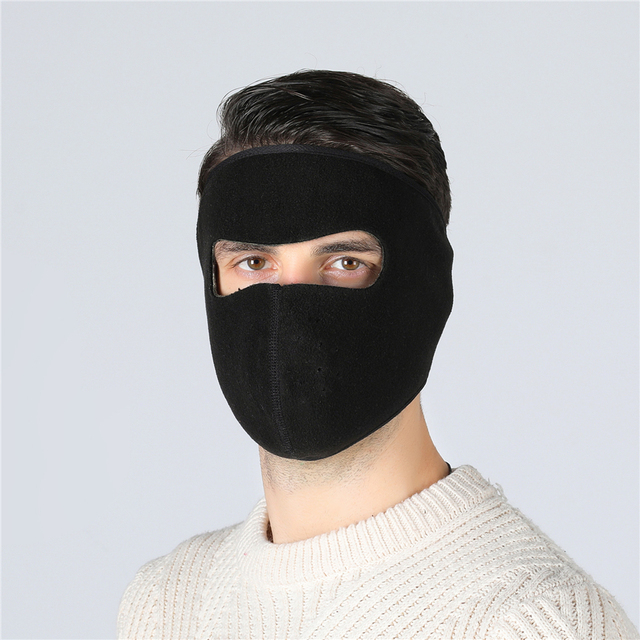 Balaclava Winter Outdoor Neck Motorcycle Face Mask Face Shield Tactical Mask Warm Ski Snowboarding Wind Cap Police Cycling 4