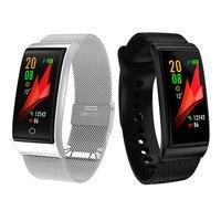 Tonometer Blood Pressure Monitor Tensiometro Pedometer Heart Rate Monitoring Wrist Digital Tensiometers Smart Wristband watch