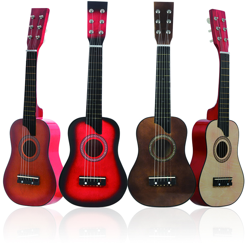 IRIN 25 Inch Mini Acoustic Guitar Basswood 12 Frets 6 String Guitar Ukulele With Pick And Strings Guitar Accessories 4 Colors