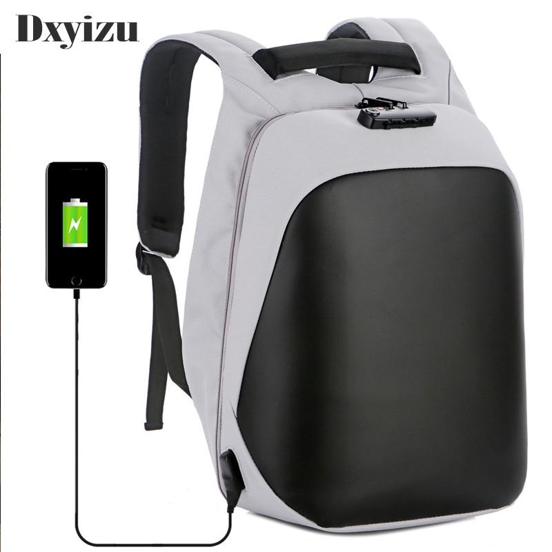 Sacs à dos antivol pour ordinateur portable, sac à dos intelligent pour voyage et école, pour hommes et femmes, chargeur USB