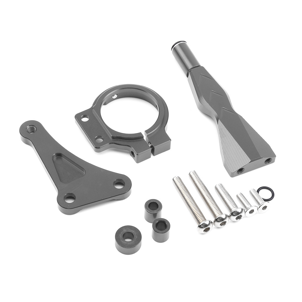 For Honda CB150R CB 150R Adjustable Steering Stabilize Damper Bracket Mount Kit Base CNC Aluminum Motorcycle Accessories