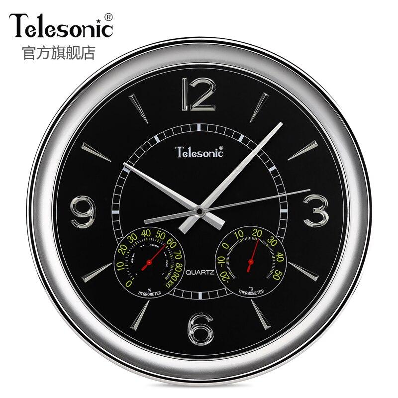 Grand rétro moderne Design horloge murale silencieux salon verre montres murales en métal cuisine multifonction Saat décor à la maison ZB5WC