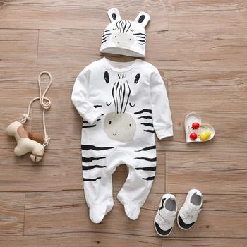 Baby's Creative Romper with Beanie 5
