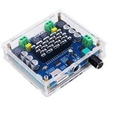 XH A105 Bluetooth 5.0 TDA7498 kablosuz dijital güç amplifikatörü kurulu 2x100W Stereo ses AMP amplificador destek TF kart AUX