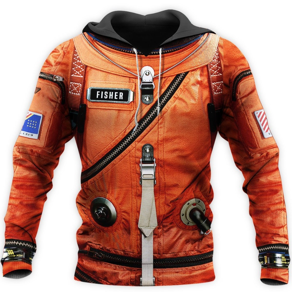Space Suit 3D All Over Printed Mens Hoodie Harajuku Streetwear Pullover Cosplay costume Unisex Casual Jacket Tracksuit DW0147 15