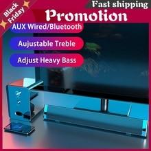 Tv Sound Bar Computer Speakers Bluetooth Speaker Soundbar Home Theater System Usb Wireless Surround Extra Bass Pc Combination