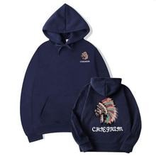2019 New hot brand men hoodies hoodie sweatshirt Tracksuit prints thermal  Men Sportswear Sets Fleece Thick худи