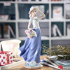 Europe Ceramic Beauty Figurines Home Furnishing Crafts Decoration Western Porcelain handicraft Ornament Wedding Gift A 6