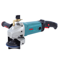 5 inch portable 125 wet polishing stone marble grinder injection type power tool
