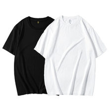 100% bawełna niestandardowy T Shirt twój własny projekt marka Logo/obraz dostosuj mężczyźni kobiety DIY z krótkim rękawem Casual bluzki Unisex Tee DZ001