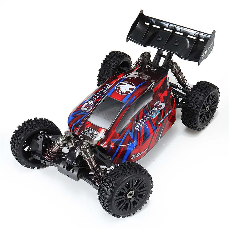 RC Car ZD Pirates3 BX-8E 1/8 2.4G 4WD 4CH Brushless Frame RC Remote Control Crawler Electric Vehicle Model Toys Cars Gifts