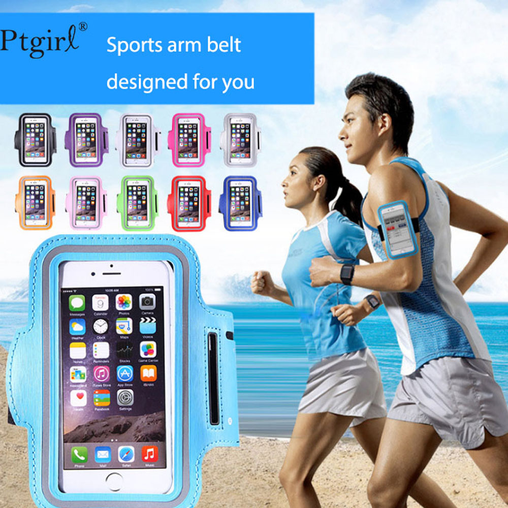 Sport Armband Case Cover For IPhone 6 7 8 Plus X Xr XS MAX Samsung Galaxy S8 S9 5.5