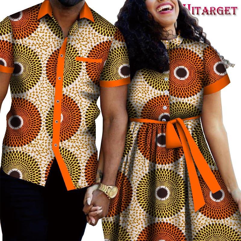 2021 roupas de casal africano terno do