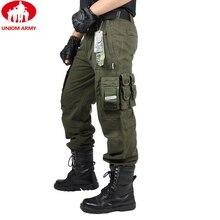מטען מכנסיים סרבל זכר גברים של צבא בגדים טקטי מכנסיים עבודה צבאית רבים כיס Combat צבא סגנון גברים ישר מכנסיים
