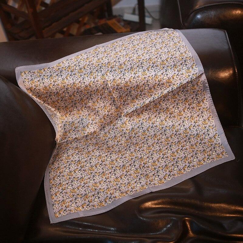 High Quality Silk Scarf Mulberry Silk Blue