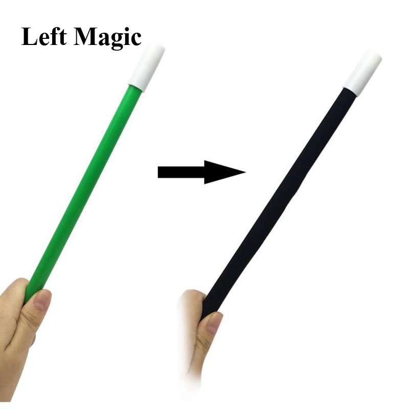 Magic Wand Changing Color Magic Tricks ( Red/Yellow/Green/ Rainbow Color ) Stick Cane Change Colors Close Up Street Stage Magic